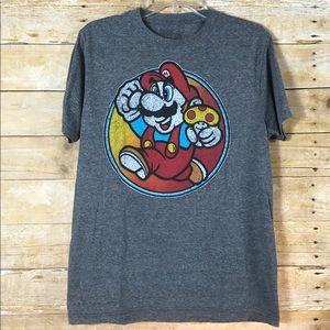 Super Mario Bros Graphic Tee - SZ M